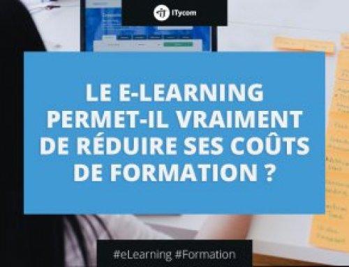 Le e-Learning permet-il vraiment de réduire ses coûts de formation ?