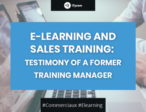 E-Learning and sales training: Testimony of a former training manager