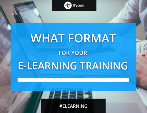 What format for your e-Learning training ?