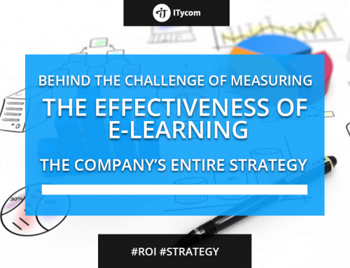 Behind the challenge of measuring the effectiveness of e-Learning: the company's entire strategy