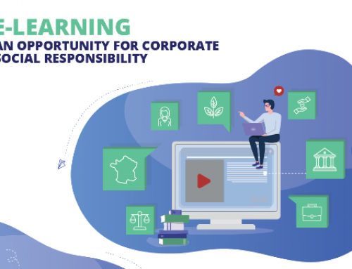 Infografics – e-Learning : Corporate Social Responsibilty
