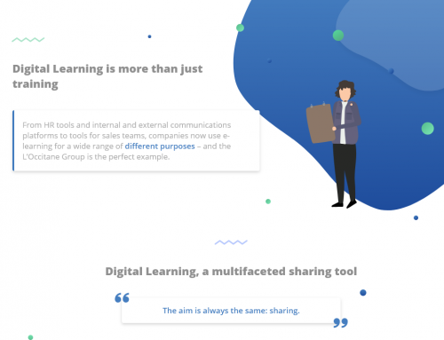 Infography : Digital Learning is more than just training