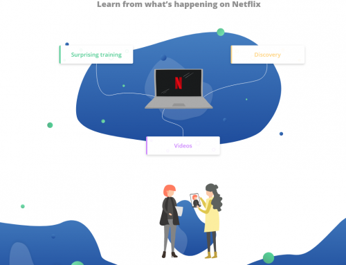 Infography : What if the Netflix model was the future of Digital Learning ?