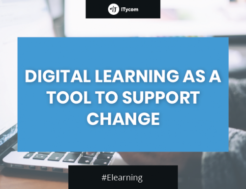 Digital learning as a tool to support change