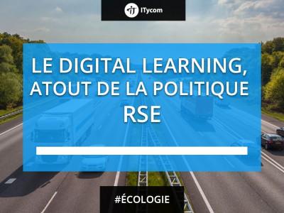 Les atouts du digital Learning pour soutenir la RSE