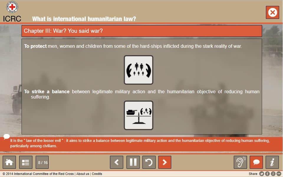 ICRC explication