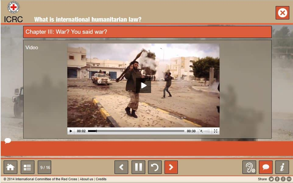 ICRC image guerre
