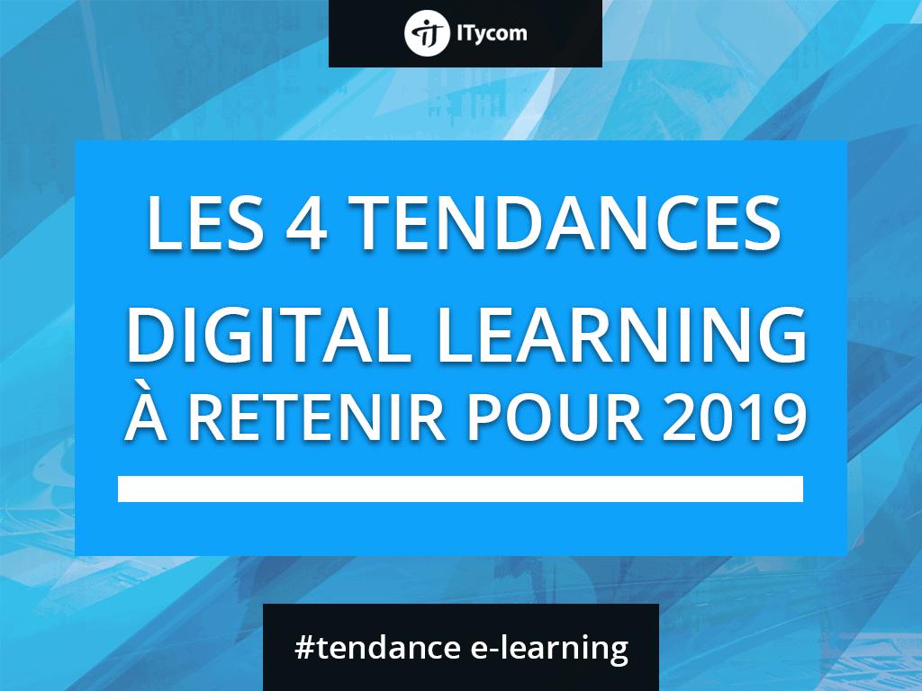 Les 4 tendances Digital Learning à retenir en 2018