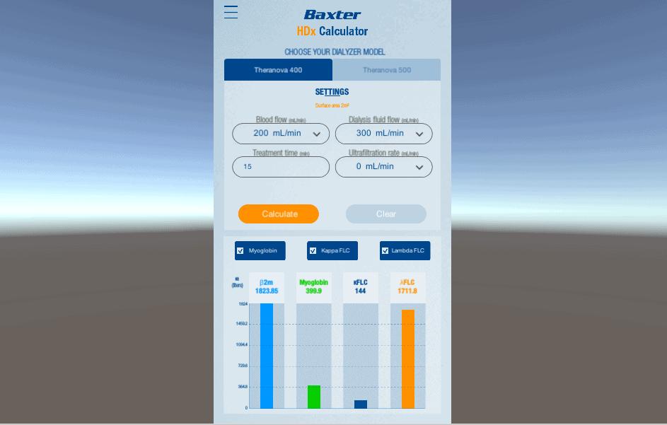 baxter calculator prescription app